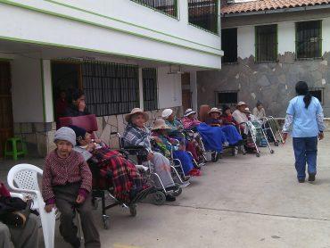 Altersheim im peruanischen Cusco
