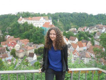 Dora aus Ungarn beim Sprachaufenthalt in Haigerloch